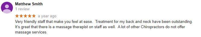 Absolute Chiropractic & Wellness Center Patient Testimonial